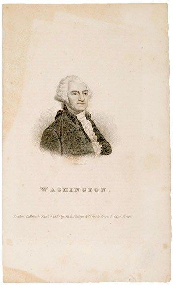 5010: Washington Print, 1823 by W. Head