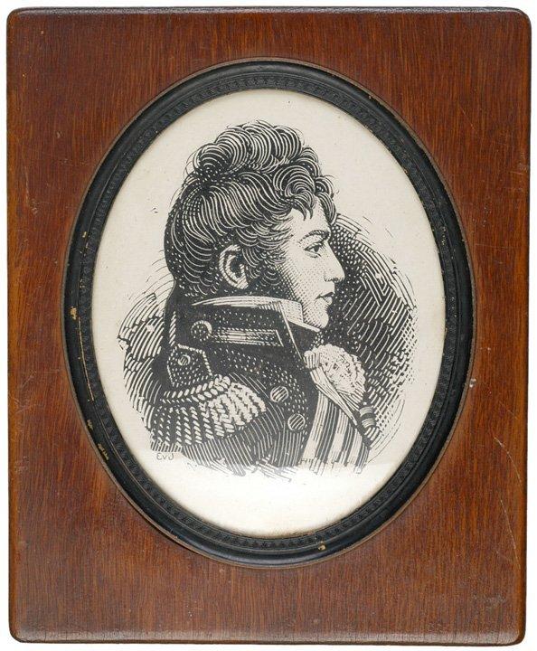 5014: JAMES LAWRENCE, Chalkboard Portrait