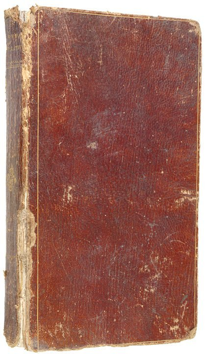 5023: Shipwreck Book With Engraving Of Circumcision