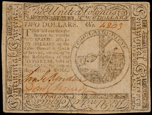 17: Continental Currency, PA, May 10, 1775, Set of 11