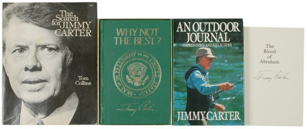 2009: JIMMY CARTER Books Signed
