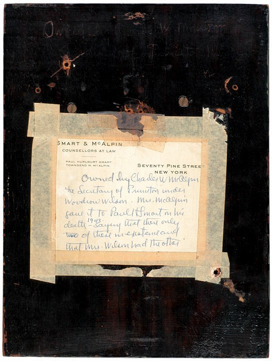 2144: WOODROW WILSON Portrait Plaque by JULIO KILENYI - 2
