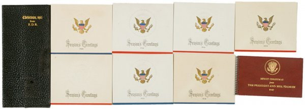 2596: Nine White House-Presidential Gifts