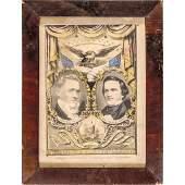 1856 Campaign James Buchanan+John C Breckinridge