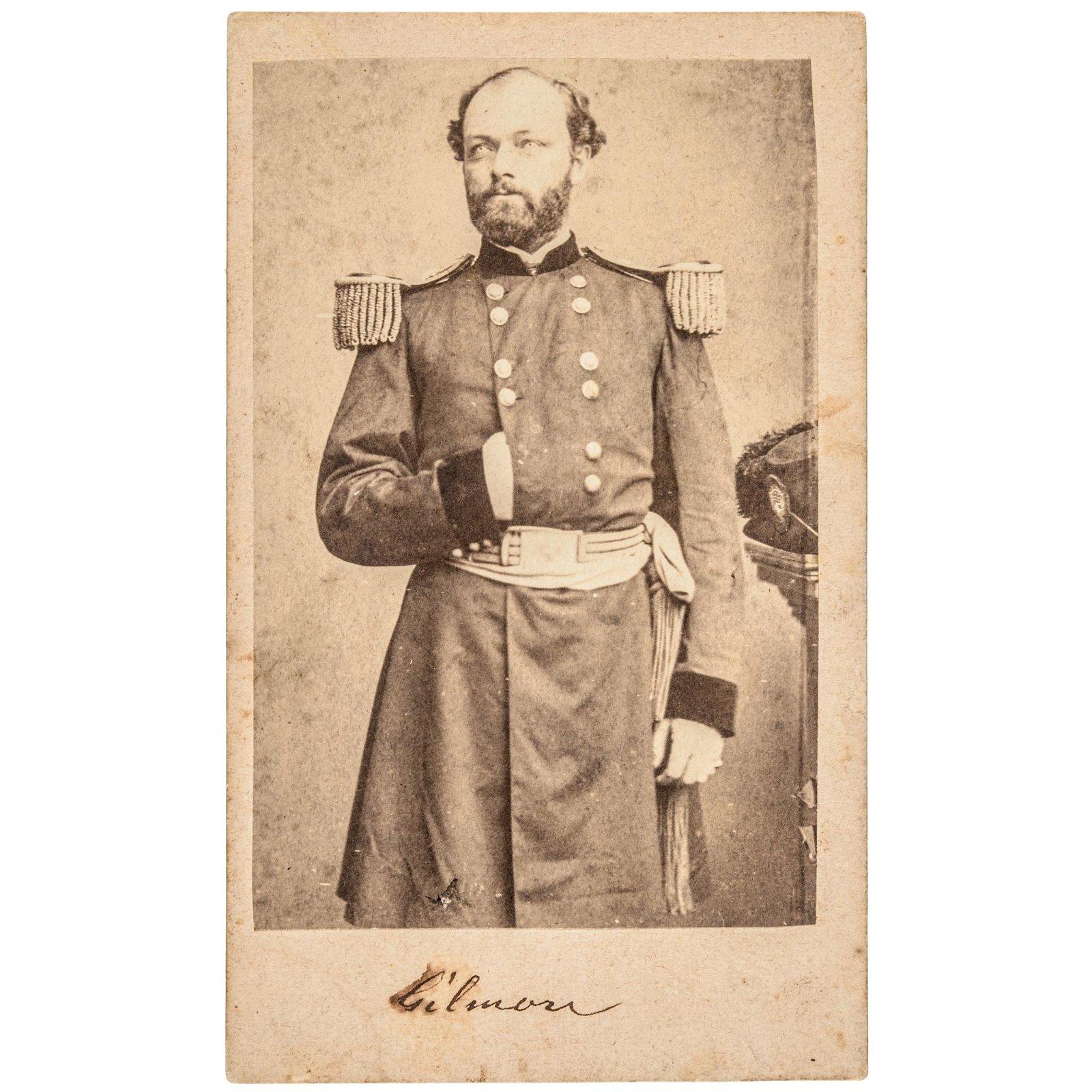 Gen. Quincy Adams Gillmore Brady Carte de Visite
