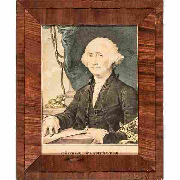 George Washington: First President, by Currier