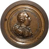1805 Eccleston GEORGE WASHINGTON Medal Variant