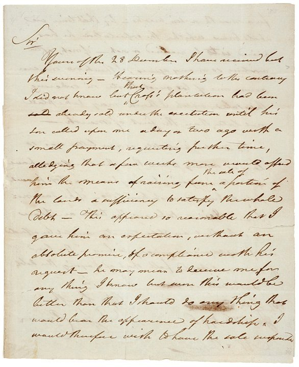 3018: 1796 Autograph Letter Signed GEORGE CLYMER