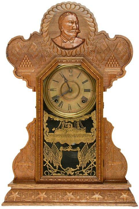 4004: Spanish-American War Commemorative Clock
