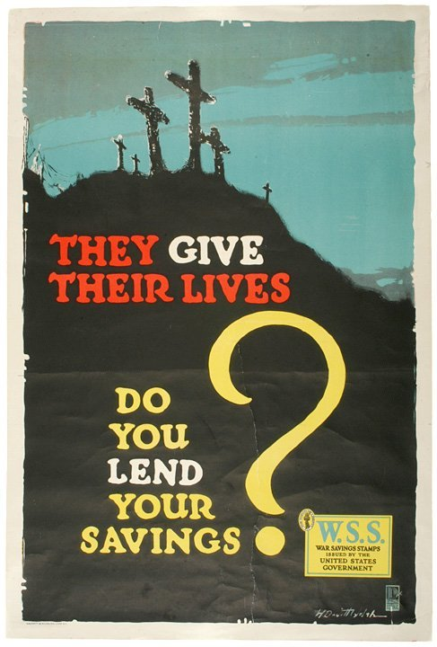 4021: They Give Their Lives - Do You Lend Your Savings?