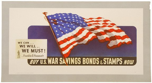 4022: 1942, World War II Poster: WE CAN... WE WILL...