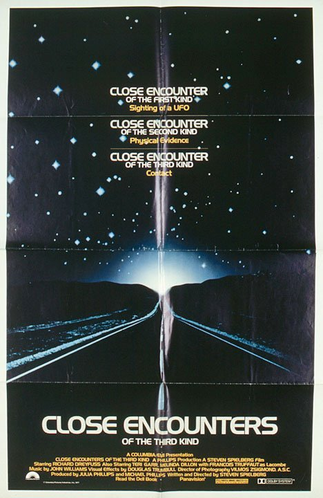 4024: Movie Posters for Close Encounters...