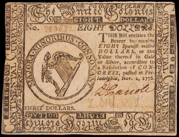 3: Continental Congress Note Signed DANIEL CARROLL