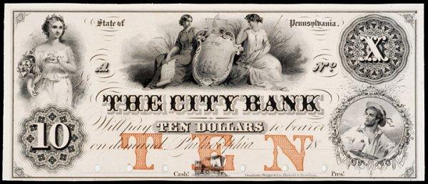 428: Obsolete Currency, Philadelphia, PA, Proof