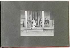 2677: 1910 Photo Album of Yosemites Big Trees