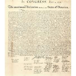 1843 DECLARATION OF INDEPENDENCE by Peter Force !