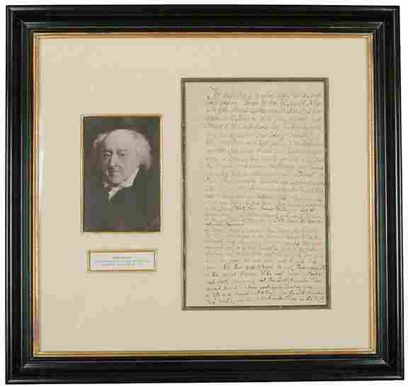 JOHN ADAMS Four Times Signed Document