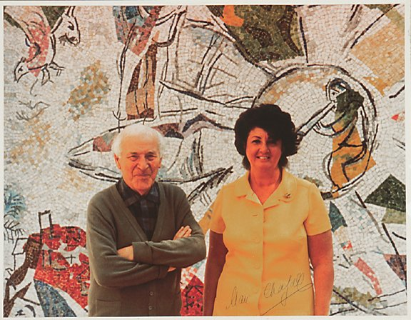 2009: Marc Chagall Signed Photograph