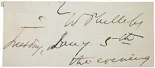 Wendell Phillips Cut Signature