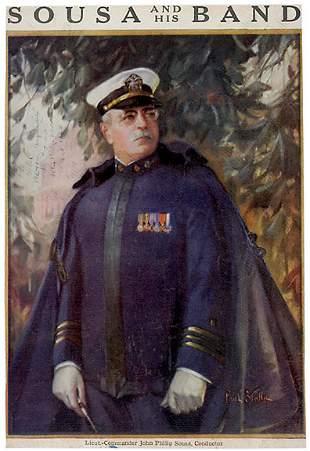 John Philip Sousa Signed Image 1926