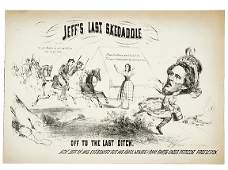 2182 Civil War CaricatureCapture of Jeff Davis
