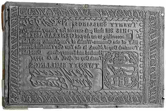 2310: Printers Wood Block PA, April 10, 1777, 20