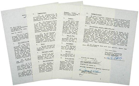 5: Astronaut Buzz Aldrin 1988 Autograph Letter