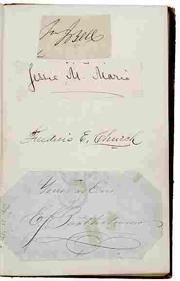 Frederick S. Church Signed Album