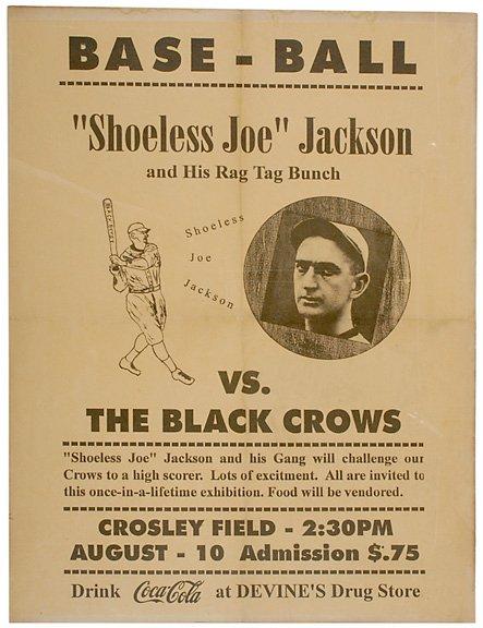 78 Shoeless Joe Jackson Framed Poster