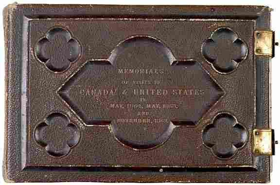 CDV Album of Civil War-Era Politicians, Generals
