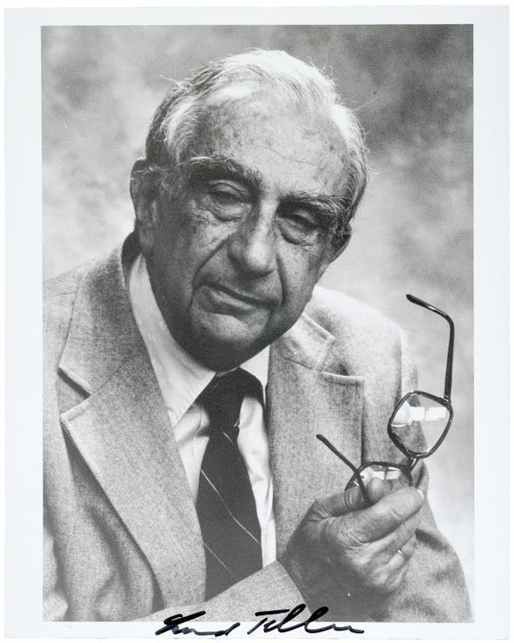 3021: EDWARD TELLER, Photograph Signed - H-BOMB Father