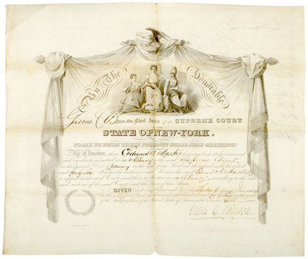 4006: Masonic 200 Year Family Archive Of Five Documents