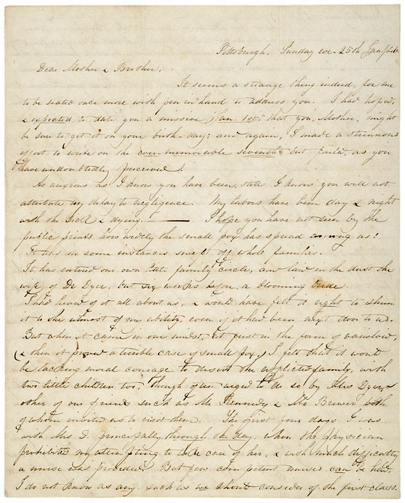 4008: 1846 Pittsburgh Smallpox Epidemic