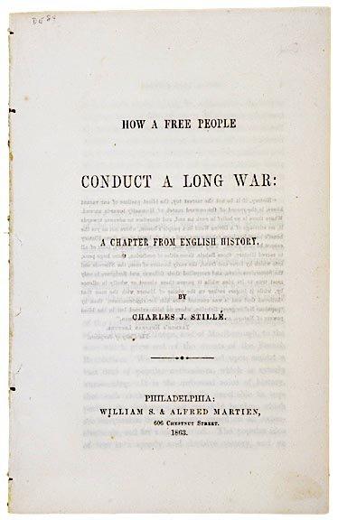 4012: Political Civil War Pamphlet, 1863