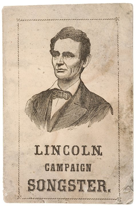 4015: 1864, Lincoln Presidential Campaign Song Book
