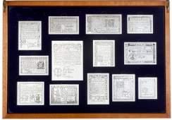 140: 1976 Bicentennial Franklin Mint 13 Colony Set