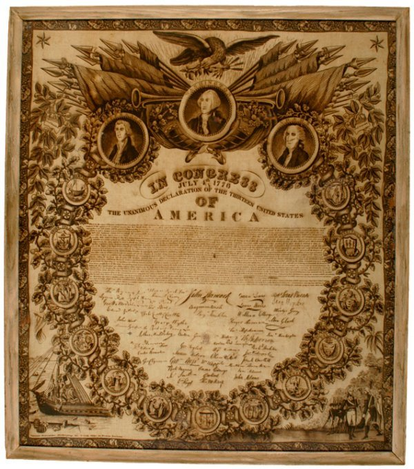2018: c. 1826 DECLARATION OF INDEPENDENCE Textile