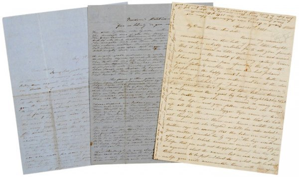 2020: Letters to JAMES WILLIAM DENVER 1846 and 1861