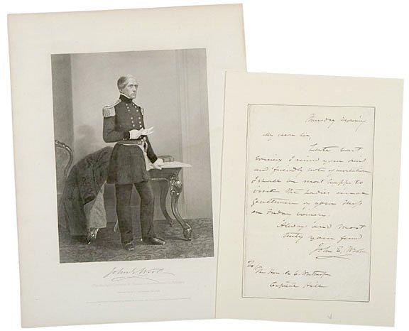 2220: Union Gen. JOHN ELLIS WOOL Signed Letter