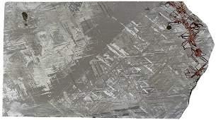 Gibeon Iron-Nickel Meteorite Slice - 476 grams