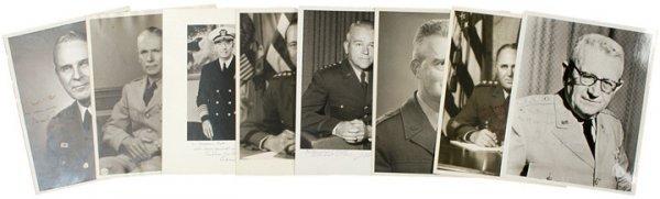 1020: Signed Photos of US Generals + Admirals