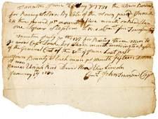 1040: Revolutionary War Bounty Payments, 1781