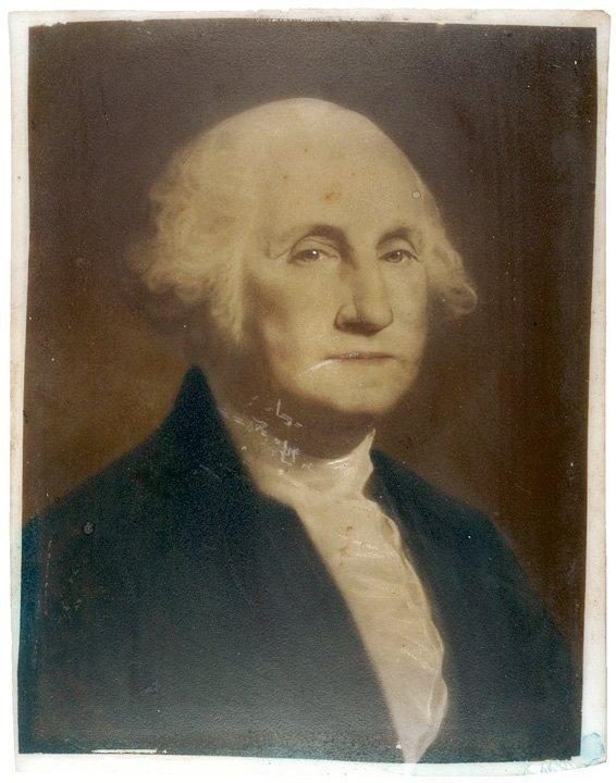 1060: George + Martha Washington Opalotype Portraits
