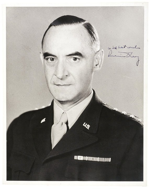 2004: Photo Signed General LUCIUS CLAY