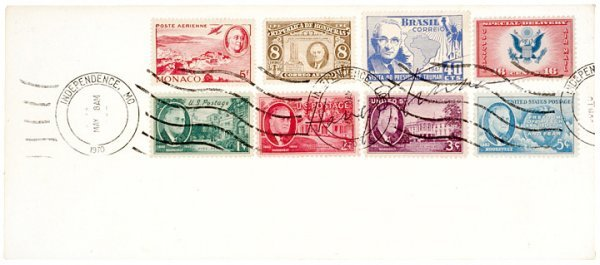 2019: HARRY S TRUMAN Signed Philatelic Postal Cover