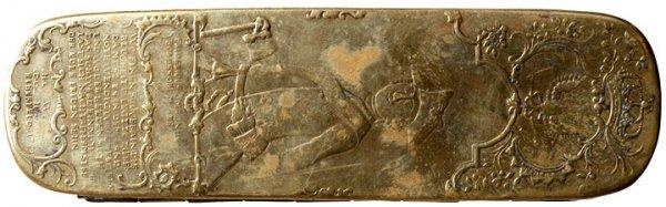 2022: 1759 Prussian Military Tobacco Box