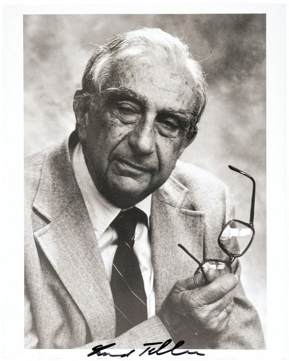 4019: EDWARD TELLER, Photograph Signed - H-BOMB Father