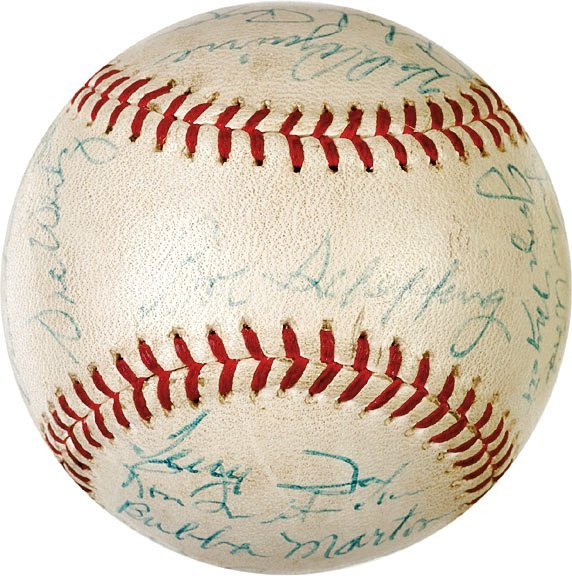 12: BASEBALL Signed by 1962 Detroit Tigers