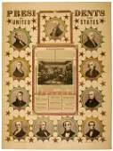 408: 1846, James K. Polk Inaugural Print: