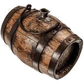 c. 1775 Revolutionary War Wooden Powder Barrel